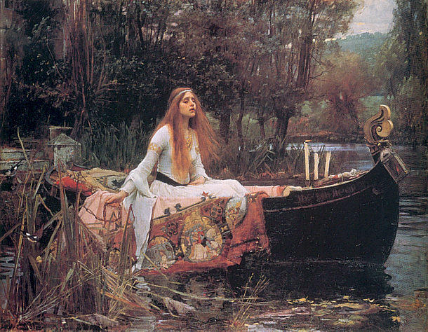 John William Waterhouse: La Dama de Shalott