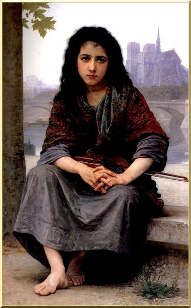 William-Adolphe Bouguereau: La bohemia