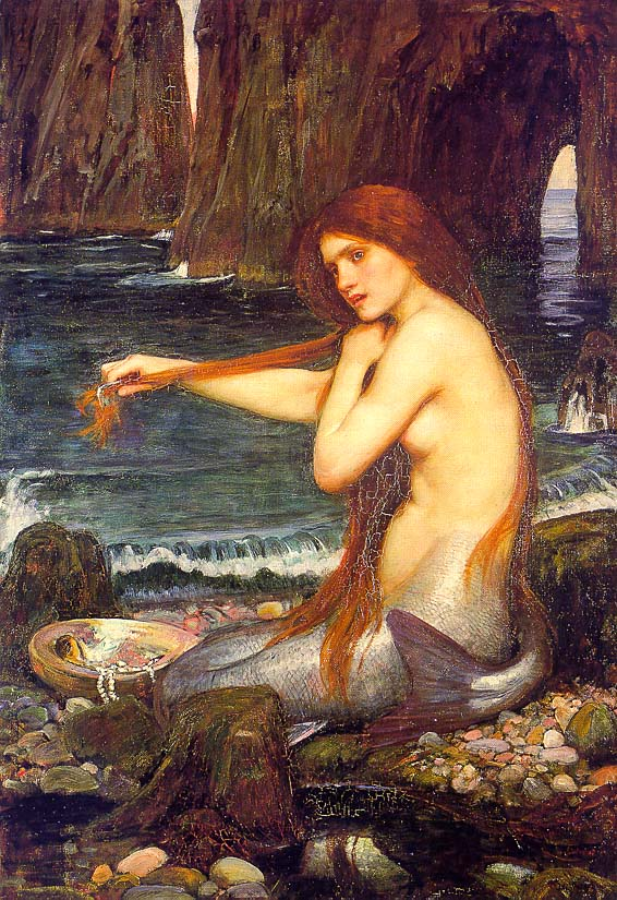 John William Waterhouse: Una sirena