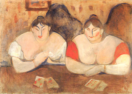 Edward Munch. Rose y Amelie